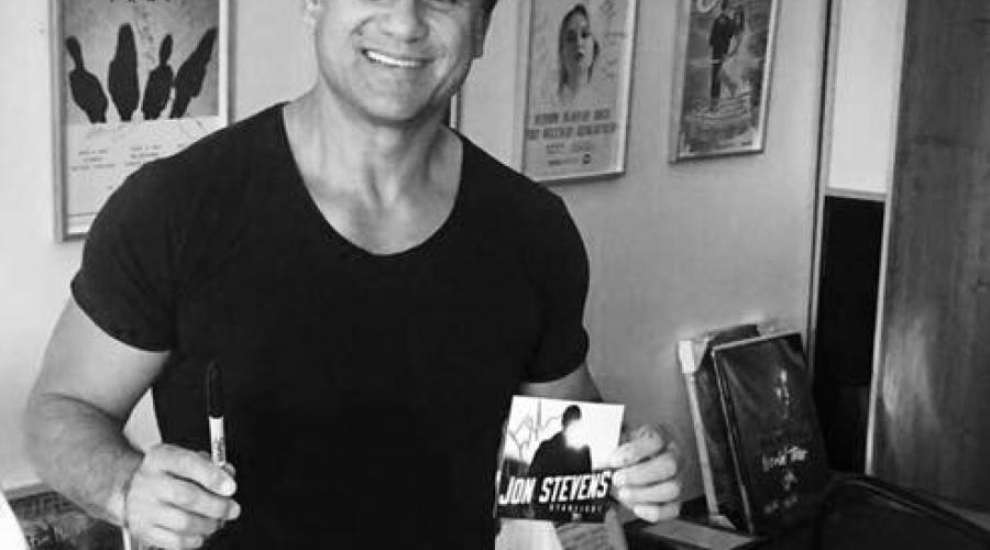 JON STEVENS EXCLUSIVE OFFER FOR SANITY – STARLIGHT ALBUM