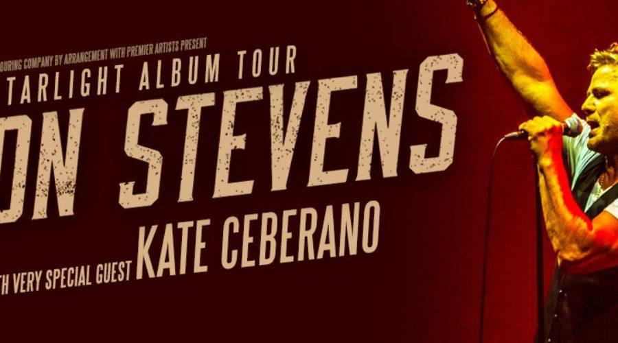 Jon Stevens + Kate Ceberano Australian Tour Announced!